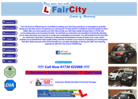 faircityschoolofmotoring.co.uk