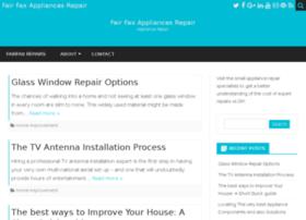 fairfaxappliancesrepair.com