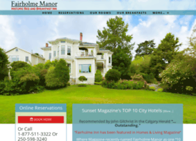 fairholmemanor.com
