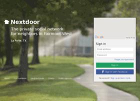fairmontwesttx.nextdoor.com