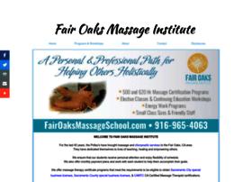 fairoaksmassageschool.com