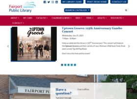 fairportlibrary.org