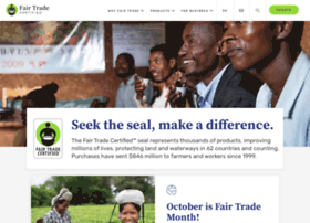 fairtradeusa.org