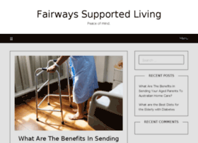 fairwayssupportedliving.com.au