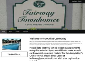 fairwaytownhomeshoa.com