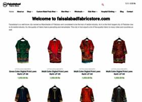 faisalabadfabricstore.com