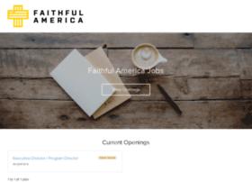 faithfulamerica.recruiterbox.com