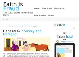 faithisfraud.com