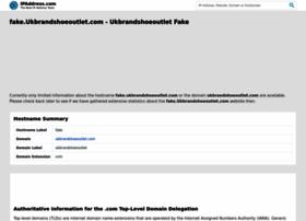 fake.ukbrandshoeoutlet.com.ipaddress.com