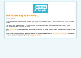 fakers.statuspeople.com