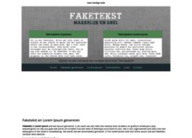 faketekst.nl