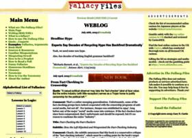 fallacyfiles.org