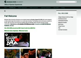 fallwelcome.msu.edu