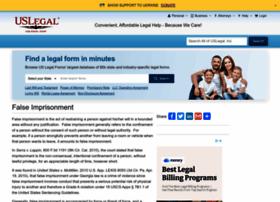falseimprisonment.uslegal.com