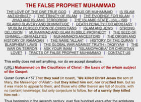 falseprophetmuhammad.com