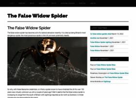 falsewidowspider.org.uk