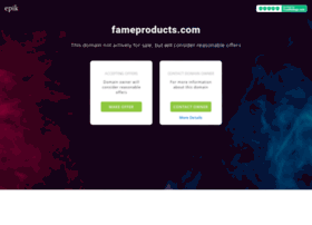 fameproducts.com