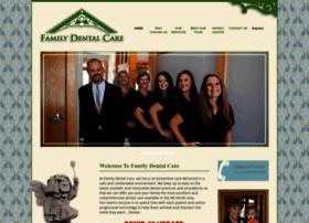 familydentalcarellc.com