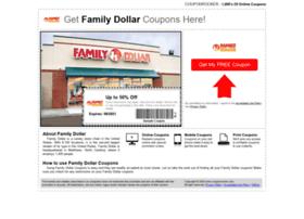 familydollar.couponrocker.com