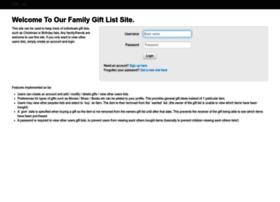 familygiftlist.co.uk