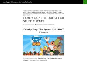 familyguythequestforstuffcheats.wordpress.com