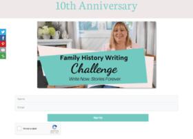 familyhistorywritingchallenge.com