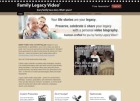 familylegacyvideo.com