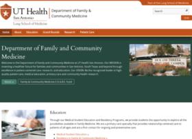 familymed.uthscsa.edu