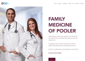 familymedicineofpooler.com