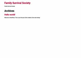 familysurvivalsociety.com