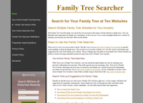 familytreesearcher.com