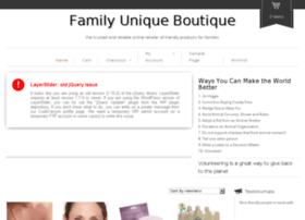 familyuniqueboutique.com
