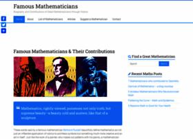 famous-mathematicians.com