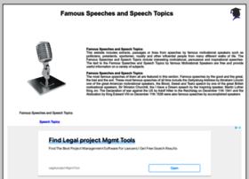 famous-speeches-and-speech-topics.info