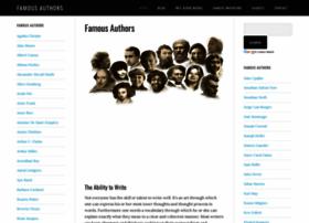 famousauthors.org