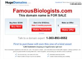 famousbiologists.com