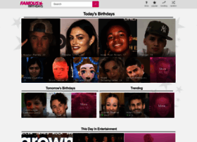famousbirthdays.com