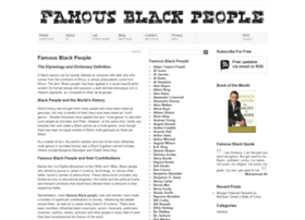 famousblackpeople.org
