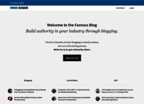famousbloggers.net
