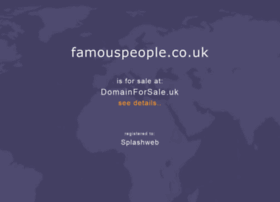 famouspeople.co.uk