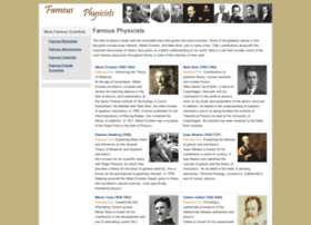 famousphysicists.org