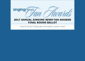fanawards.singingnews.com