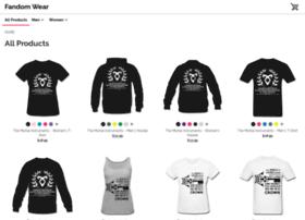 fandommwear.spreadshirt.com