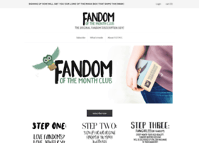 fandomofthemonth.cratejoy.com