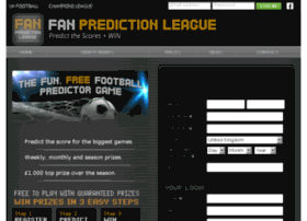 fanpredictionleague.com