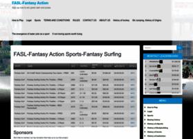 Fantasyactionsportsleague.com