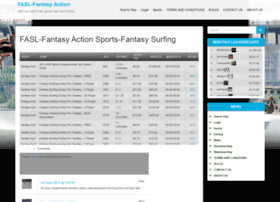 fantasyactionsportsleague.com