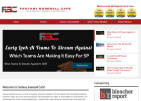 fantasybaseballcafe.com