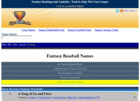 fantasybaseballnames.com