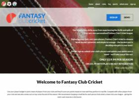 fantasyclubcricket.co.uk
